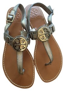 3592191472d9 Silver Tory Burch Sandals - Up to 90% off at Tradesy