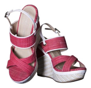 Chinese Laundry Women Spring Summer Fashion Coral Wedges