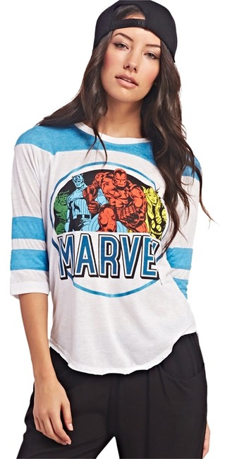 Preload https://item5.tradesy.com/images/marvel-multicolor-comics-tee-shirt-size-0-xs-2108719-0-0.jpg?width=400&height=650