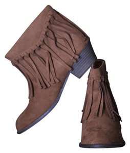 American Eagle Outfitters Botte Fashion Tassels Cognac Boots