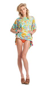 Trina Turk NWOT COSMOS TUNIC TOP SWIMSUIT BEACH COVER UP