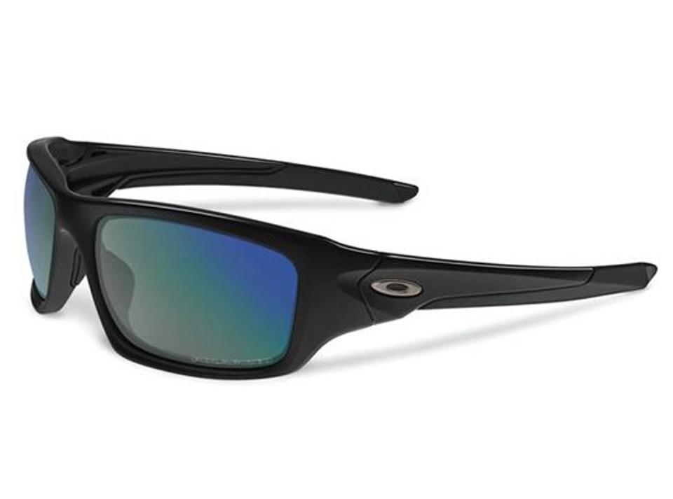 8cb0a847b2 Oakley Polished Black Deep Blue Polarized Valve Angling Specific Black Deep  Polar Oo9236-12 Sunglasses