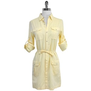 Rag & Bone short dress yellow on Tradesy