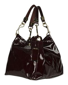 Jimmy Choo Satchel in Black patent leather