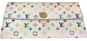 Louis Vuitton Louis Vuitton monogram multi color long wallet