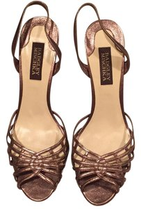 Badgley Mischka Pewter/bronze Formal