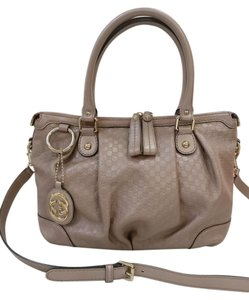 Gucci Leather Sukey Gg Cross Body Bag