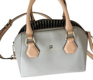 Kate Spade Satchel in Pastel blue and tan