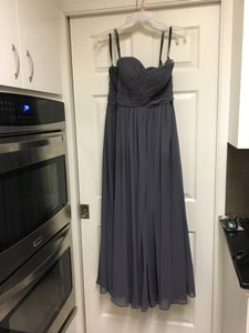 Bill Levkoff Pewter Bridesmaid Dress #740 Dress