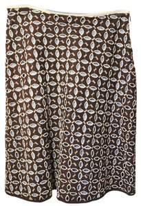 Anthropologie Embroidered Skirt Multicolor