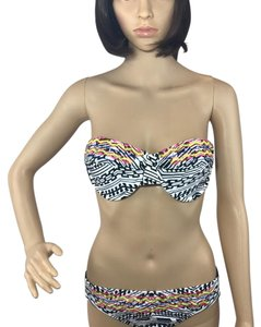 Gianni Bini Stripe Tribal Bikini