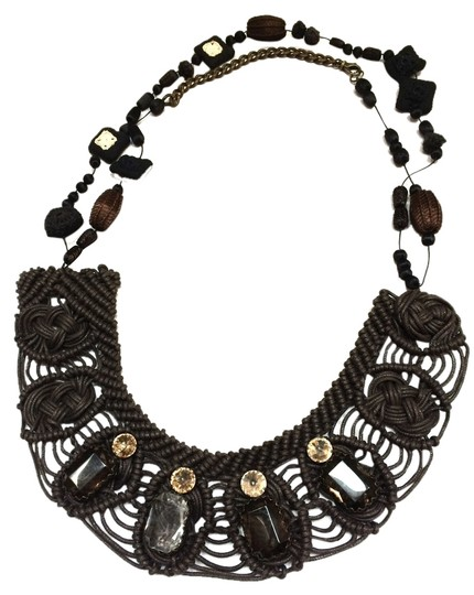 Preload https://item4.tradesy.com/images/marni-multi-colored-browns-white-runway-collection-piece-necklace-2108813-0-0.jpg?width=440&height=440