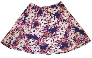 Nordstrom Lily Small Dressy Flowers Skirt Blue, pink, white