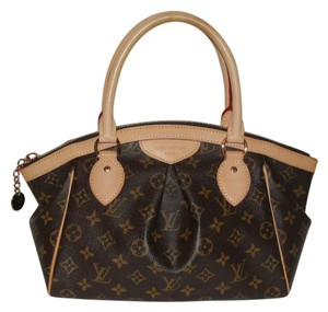 Louis Vuitton Speedy Tivoli Monogram Louis Satchel in Brown