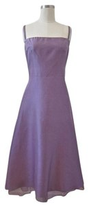 Lynn Lugo Bridesmaid Silk Dupioni Shantung Purple Dress