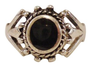 Other 925 Sterling Silver Onyx Ring