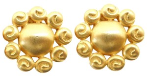 Givenchy GIVENCHY Gold Plated Vintage Earrings