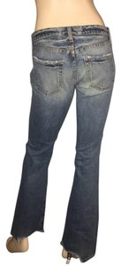 Gap Size 2 Vintage Distressed Low Rise Classic Boot Cut Jeans-Distressed