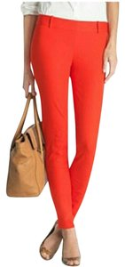 J.Crew Skinny Spring Ankle Comfortable Classic Capri/Cropped Pants Orange