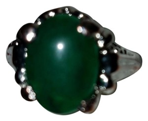 Others Follow Platinum work Jade and diamonds accents