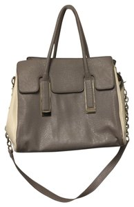 Ivanka Trump Crossbody Tote in Grey & Cream