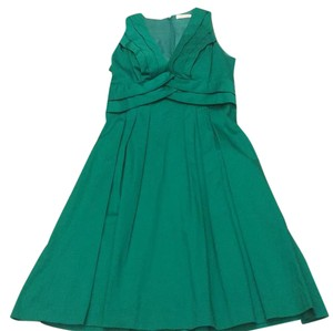 Calvin Klein short dress green on Tradesy