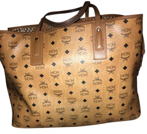 MCM Tote in Luggage