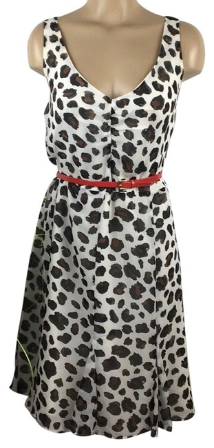 Kate Young for Target White Animal Print Mid-length Casual Maxi Dress Size 16 (XL, Plus 0x) Kate Young for Target White Animal Print Mid-length Casual Maxi Dress Size 16 (XL, Plus 0x) Image 1