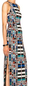 Multiple, Black, Red, White Maxi Dress by Mara Hoffman