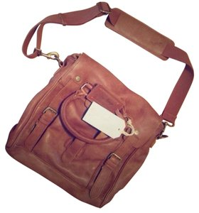 Rawlings Brown Leather Messenger Bag