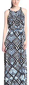 Blue/White Maxi Dress by Marc New York