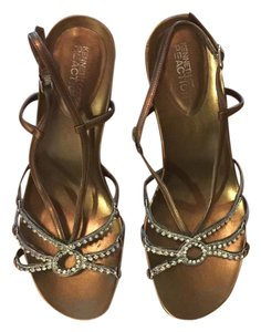 Kenneth Cole Bronze Sandals