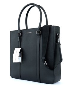 Burberry Briefcase Travel Crossbody Tote in Black