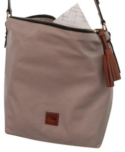 Dooney & Bourke Leather Extra Large Fully Lined Dust Cross Body Bag
