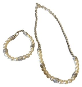 Brighton Brighton Meridian Pearl Bracelet & Necklace Set