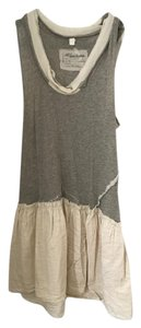 AllSaints short dress Grey, white on Tradesy