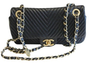 Chanel Chevron Flap Shoulder Bag