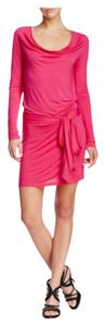 Haute Hippie short dress $80 OBO ** Free Shipping ** Haute Size Small Night Out Pink Longsleeve on Tradesy