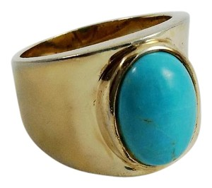 Other Gold Wide Ring Size 8.75