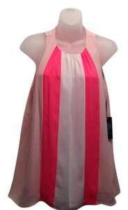 Vince Camuto Top Pink, Cream