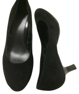 Connie black leather Pumps