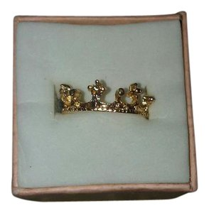 Other Size Six Gold Plated Crown or Tiara Ring/Band