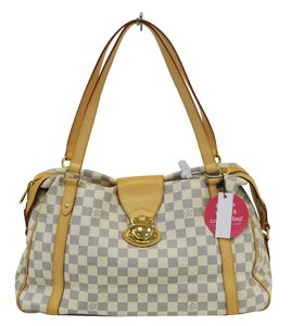 Louis Vuitton Lv Stresa Gm Damier Azur Shoulder Bag