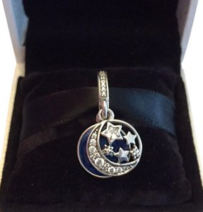 PANDORA AUTHENTIC VINTAGE NIGHT SKY DANGLE W/ TAG & BOX