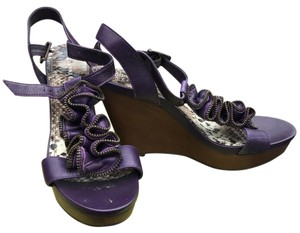 Gianni Bini purple Wedges