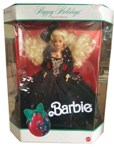 Barbie 1991 Special Edition Happy Holidays Barbie