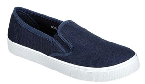 Refresh Casual Slip-on Loafers Blue Navy Flats