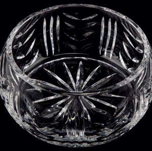 Waterford Clear Crystal Bowl New and Never Used Decoration