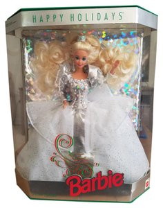 Barbie 1992 Special Edition Happy Holidays Barbie