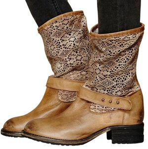 Free People Tan-Taupe Boots